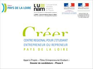 CRÉER*  en Pays de la Loire