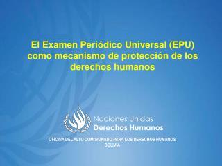 Naciones Unidas Derechos Humanos