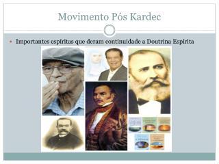 Movimento Pós Kardec