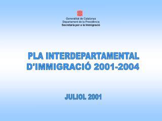 PLA INTERDEPARTAMENTAL