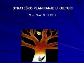 STRATE Š KO PLANIRANJ E U KULTURI Novi  Sad,  11 . 12 .20 12.