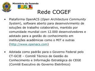 Rede COGEF