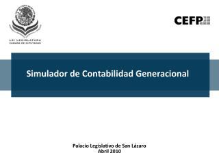 Simulador de Contabilidad Generacional