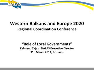 About NALAS Message from NEXPO Sarajevo 2011 2020 Agenda – Challenges and Opportunities