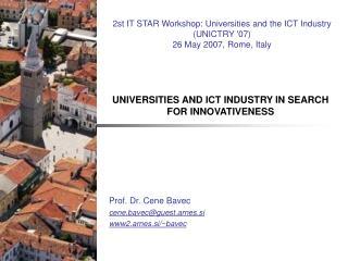 Prof.  D r. Cene Bavec cene.bavec@guest.arnes.si www2.arnes.si/~bavec