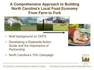 A Comprehensive Approach to Building North Carolina's Local Food Economy From Farm to Fork