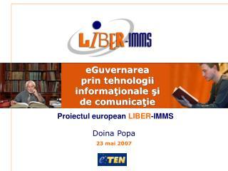 eGuvernarea  prin tehnologii informa ţionale şi de comunicaţie