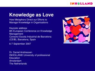 Knowledge as Love