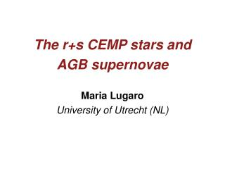 The r+s CEMP stars and AGB supernovae