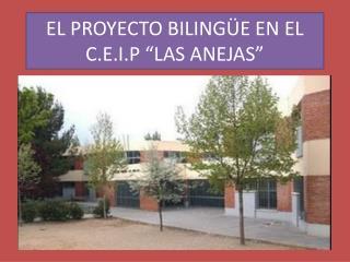"""EL PROYECTO BILINGÜE EN EL C.E.I.P """"LAS ANEJAS"""""""