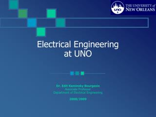 Electrical Engineering at UNO