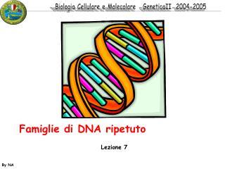 Famiglie di DNA ripetuto