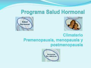 Programa Salud Hormonal