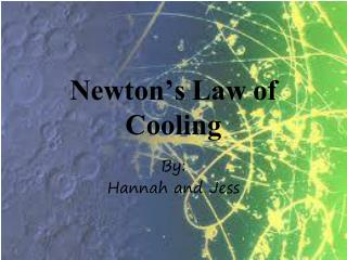 Newton's Law of Cooling