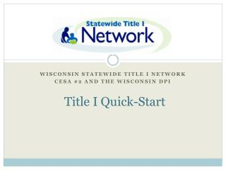 "Title I ""Quick Start"""