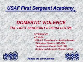 USAF First Sergeant Academy