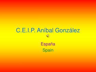 C.E.I.P. Aníbal González