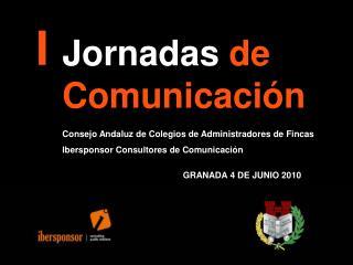 Jornadas  de     Comunicación