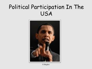 Political Participation In The USA