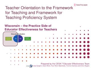 Teacher Orientation to the Framework for Teaching and Framework for Teaching Proficiency System