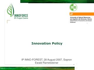 Innovation Policy