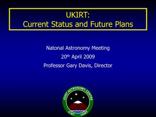 UKIRT: Current Status and Future Plans