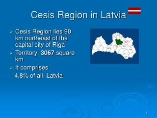 Cesis Region in Latvia