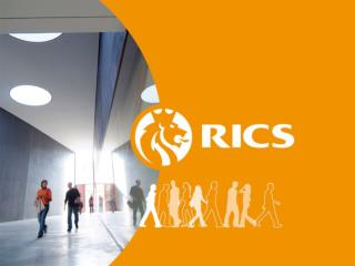 Chris Grzesik FRICS Chairman RICS Continental  Europe Standards Board Prof. David Mackmin FRICS