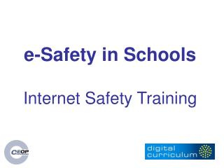 e-Safety in Schools Internet Safety Training