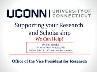 Supporting your Research  and Scholarship