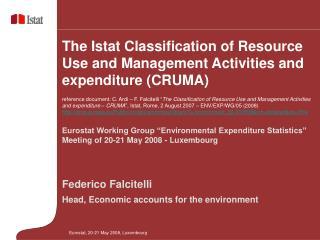"Eurostat Working Group ""Environmental Expenditure Statistics"""