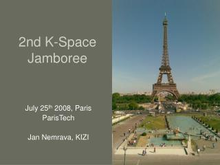 2nd K-Space Jamboree