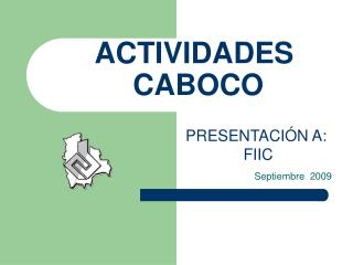 ACTIVIDADES  CABOCO