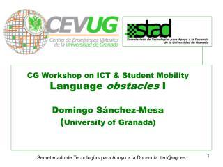 Secretariado de Tecnologías para Apoyo a la Docencia. tad@ugr.es