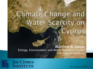 Climate Change and Water Scarcity on Cyprus