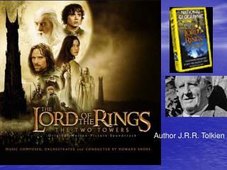 Author J.R.R. Tolkien