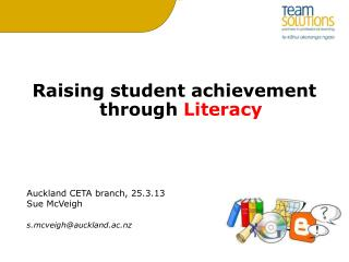 Raising student achievement through  Literacy