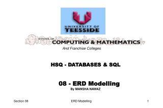 08 - ERD Modelling