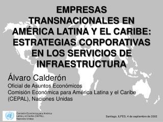 Álvaro Calderón Oficial de Asuntos Económicos