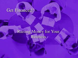 Get Financed!
