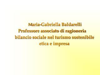 M aria-Gabriella Baldarelli