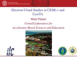 Electron Cloud Studies at CESR-c and CesrTA