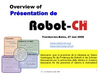 robot-ch lara.heig-vd.ch