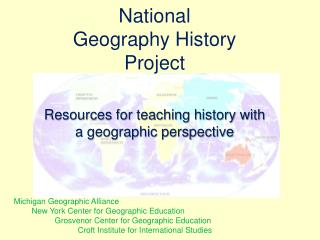 National  Geography History  Project