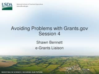 Avoiding Problems with Grants Session 4