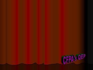 CFPA's QEP