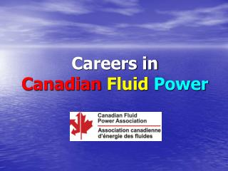 Careers in Canadian Fluid Power