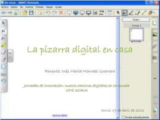 La pizarra digital en casa