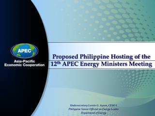 Undersecretary Loreta G. Ayson, CESO I Philippine Senior Official on Energy Leader