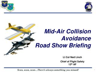 Mid-Air Collision Avoidance Road Show Briefing